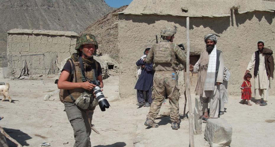 Photojournalist in Afghanistan